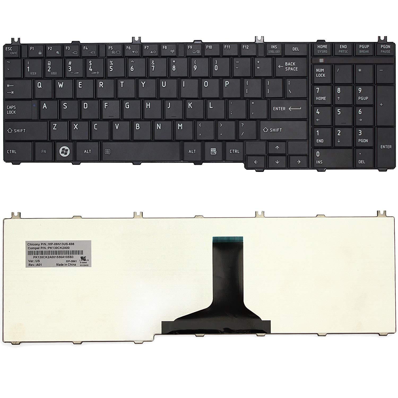 Thay Bàn phím Laptop Toshiba Satellite C650